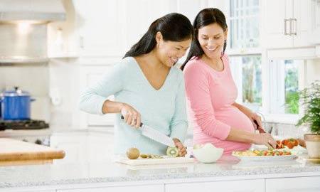 Chế độ thủy, hải sản cho thai phụ